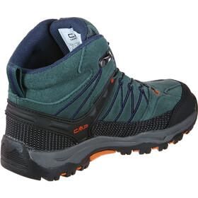 CMP Campagnolo Rigel WP Chaussures de trekking mi-hautes Enfant, jungle blue